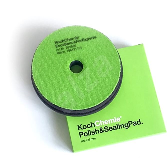 KochChemie POLISH & SEALING 126x23 mm zelený - Leštící kotouč