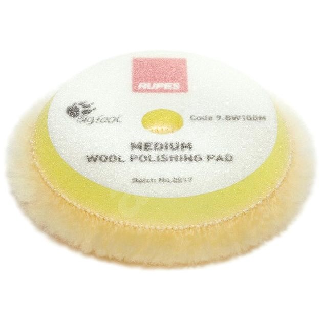 RUPES Yellow Wool Polishing Pad MEDIUM  - Leštící kotouč