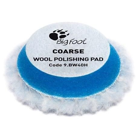 RUPES Blue Wool Polishing Pad COARSE - sada 6 ks - Leštící kotouč