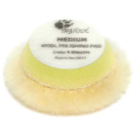 RUPES Yellow Wool Polishing Pad MEDIUM - sada 6 ks - Leštící kotouč