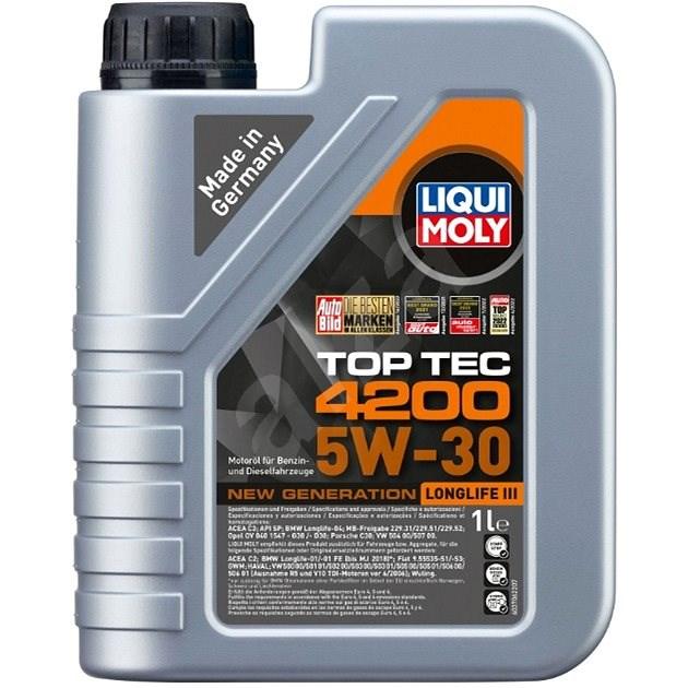Liqui Moly Motorový olej Top Tec 4200 5W-30, 1 l - Motorový olej