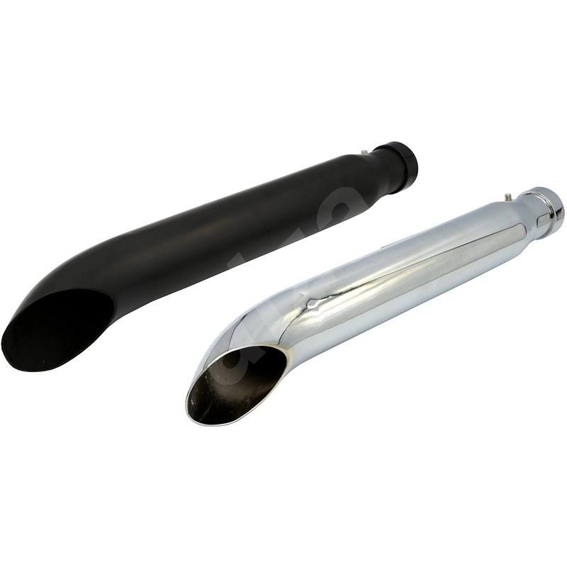 R-Tech Bend Exhaust - Colour: Matt Black - Exhaust Tail Pipe