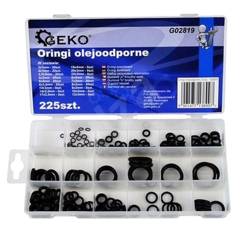 GEKO O-kroužky odolné proti olejům 225ks - Nářadí pro automechaniky