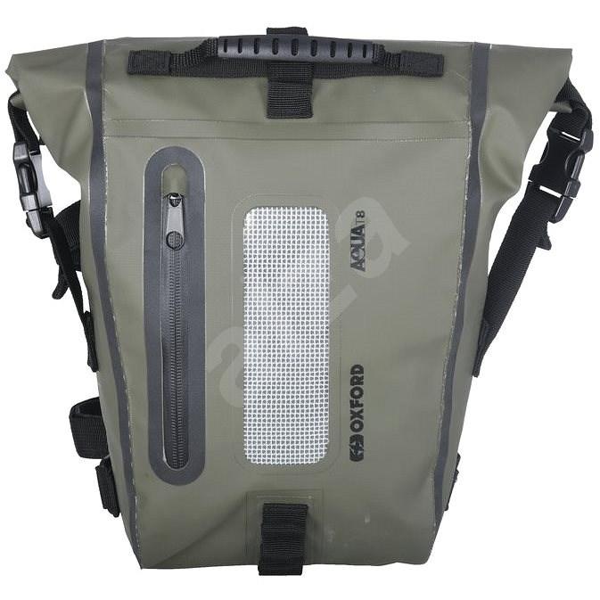 OXFORD Brašna na sedlo spolujezdce Aqua T8 Tail bag (khaki/černá, objem 8 l) - Batoh na motorku
