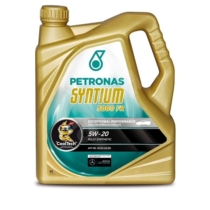 Petronas SYNTIUM 5000FR 5W-20 4L - Motorový olej