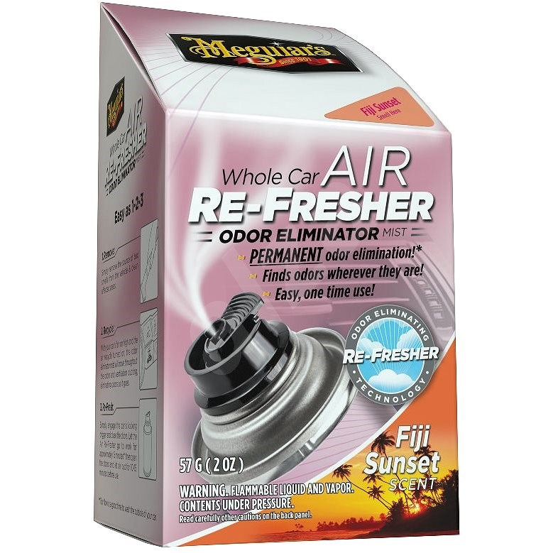 Meguiar's Air Re-Fresher Odor Eliminator - Fiji Sunset Scent 71g - Čistič klimatizace