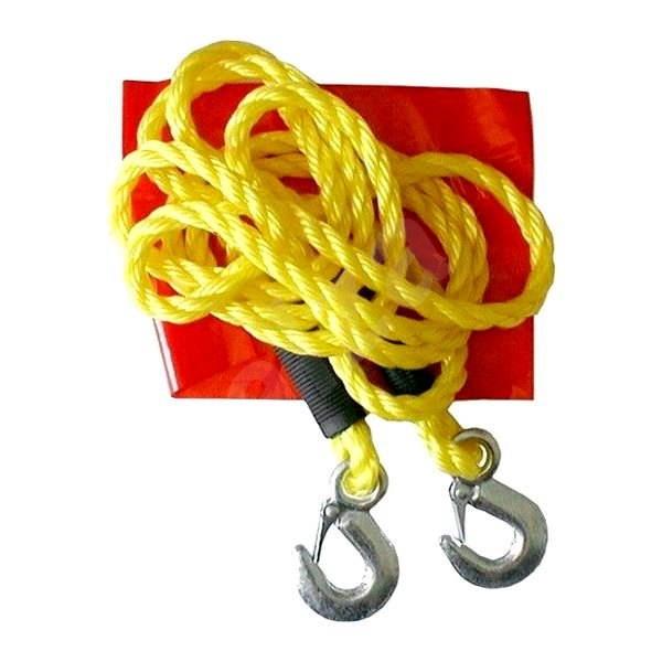 COMPASS Tažné lano 3000 kg s karabinami - Tažné lano