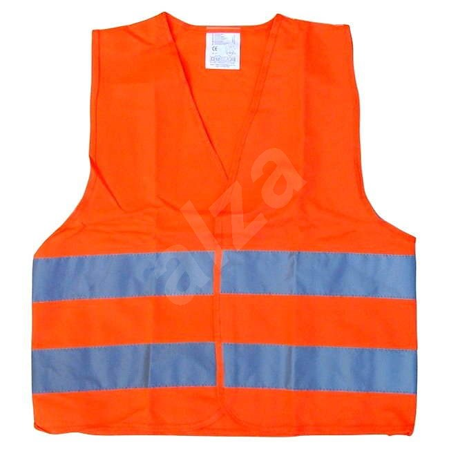 COMPASS Warning orange vest EN 20471: 2013 - Reflective Vest