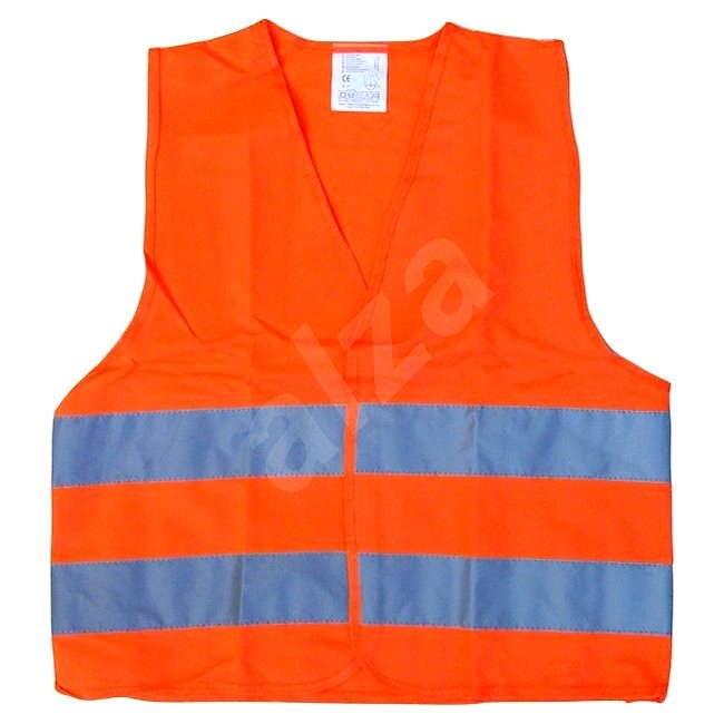COMPASS orange warning vest EN 20471:2013 - Reflective Vest