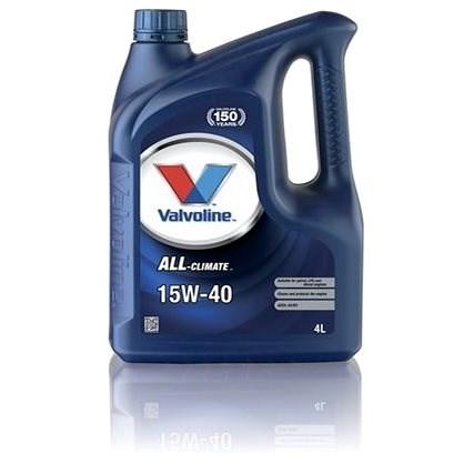 Valvoline ALL CLIMATE 15W40, 4l - Motorový olej
