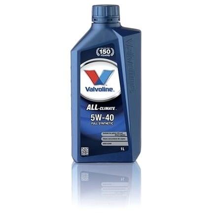 Valvoline ALL CLIMATE 5W40, 1l - Motorový olej