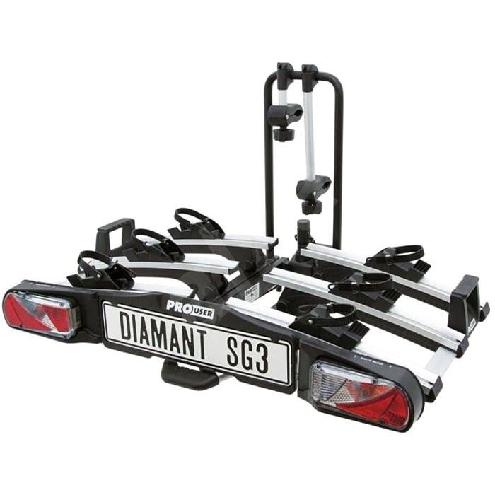 Pro-USER Diamant SG3 - nosič pro 3 kola - Nosič kol na tažné zařízení