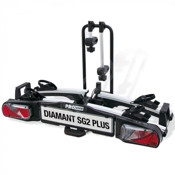 Pro-USER Diamant SG2 PLUS - nosič pro 2 kola - Nosič kol na tažné zařízení