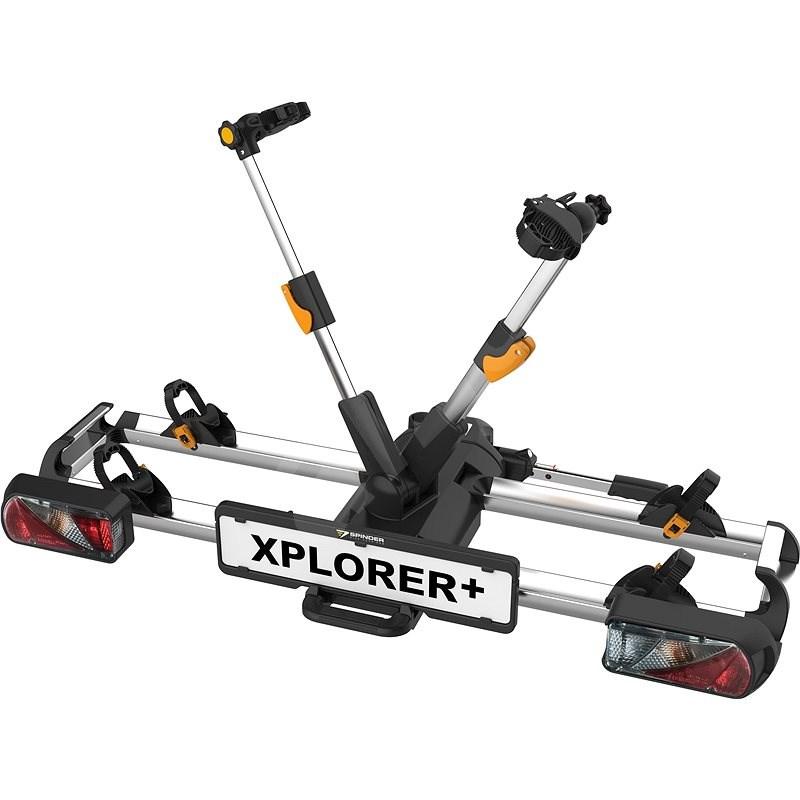 SPINDER Xplorer + nosič pro 2 kola - Nosič kol na tažné zařízení