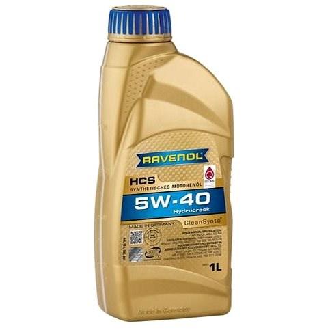 RAVENOL HCS SAE 5W-40; 1 L - Motorový olej