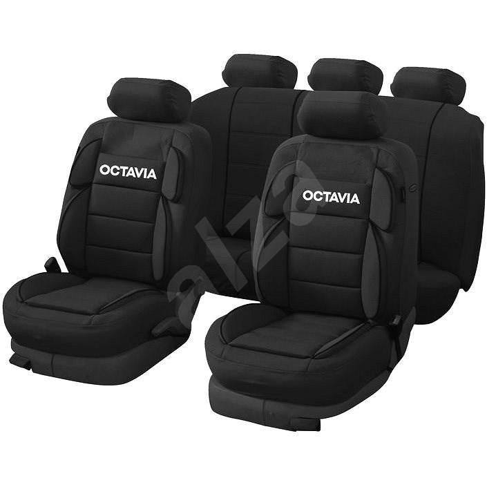 CAPPA Autopotahy Octavia Luxury černá - Autopotahy