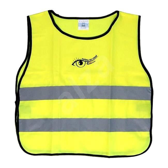 COMPASS Vesta výstražná žlutá dětská S.O.R. - Reflexní vesta