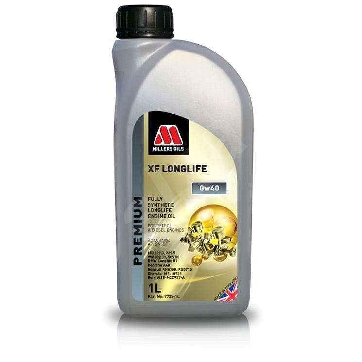 Millers Oils XF LONGLIFE 0w-40 1l - Motorový olej