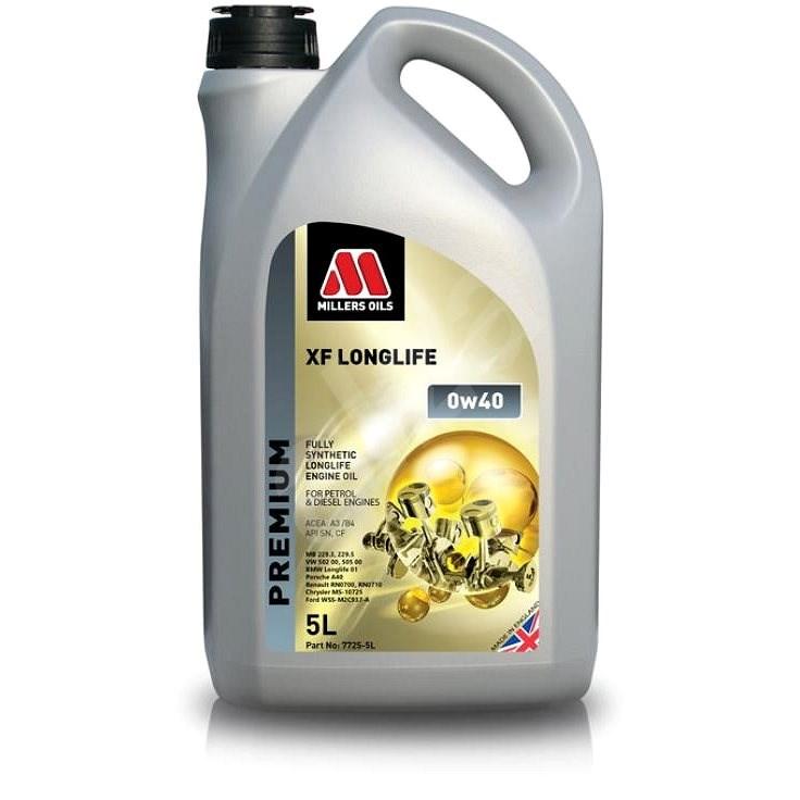 Millers oils XF LONGLIFE 0w-40 5l - Motorový olej