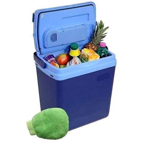 COMPASS Chladící box BLUE  displej s teplotou - Autochladnička
