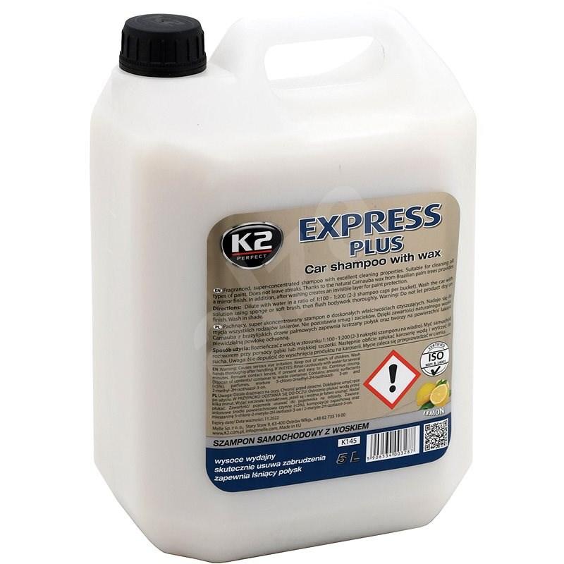 K2 Šampon s voskem 5L - Autošampon