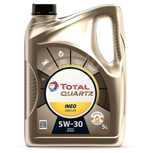 TOTAL QUARTZ INEO LONG LIFE 5W30 -  5l - Motorový olej