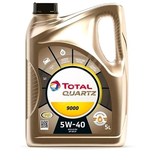 TOTAL QUARTZ 9000 5W40 5l - Motorový olej
