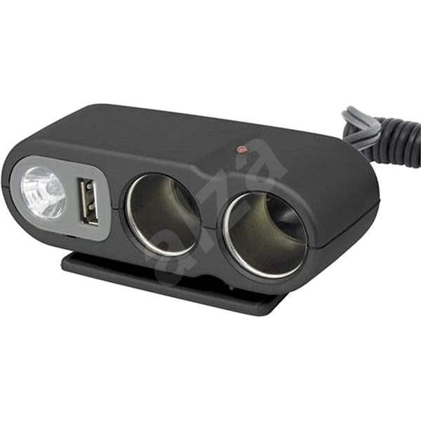 CARPOINT 12V - s USB výstupem / kabelem - Autoadaptér
