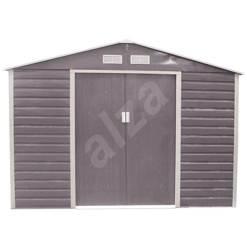 G21 GAH 706 - 277 x 255cm, šedý - Zahradní domek