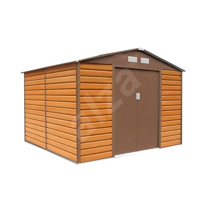 G21 GAH 706 - 277 x 255 cm, imitace dřeva - Zahradní domek