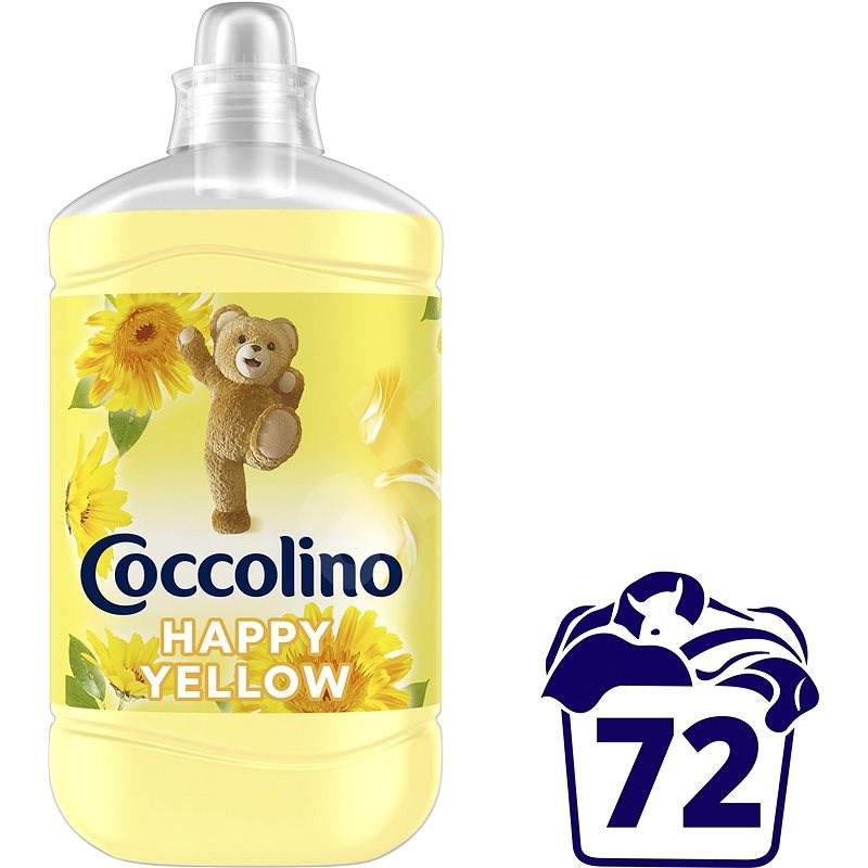 COCCOLINO Happy Yellow 1,8 l (72 praní) - Aviváž