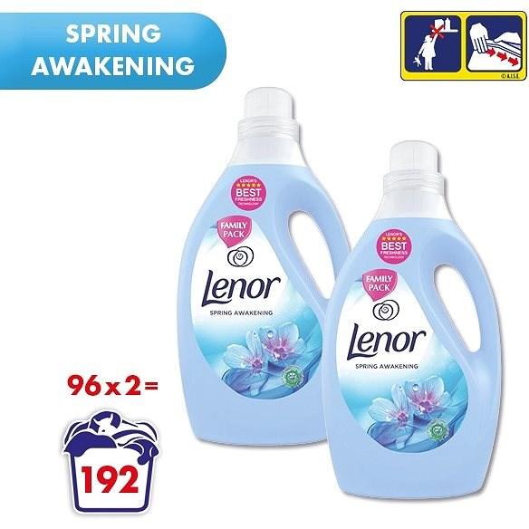 LENOR Spring Awakening 2× 2,905 l (192 praní) - Aviváž