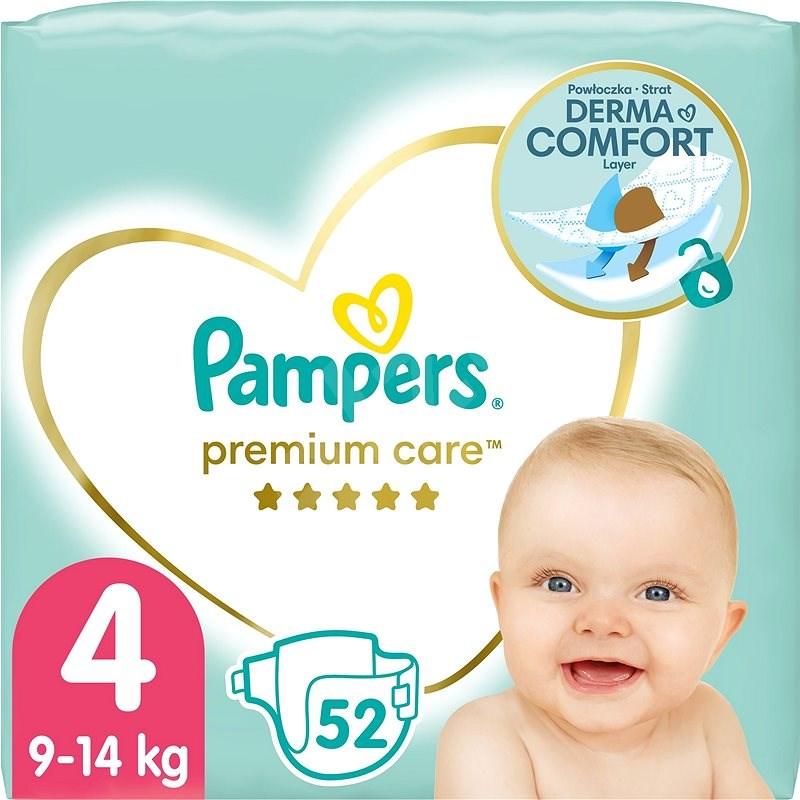 PAMPERS Premium Care vel. 4 (52 ks) - Dětské pleny