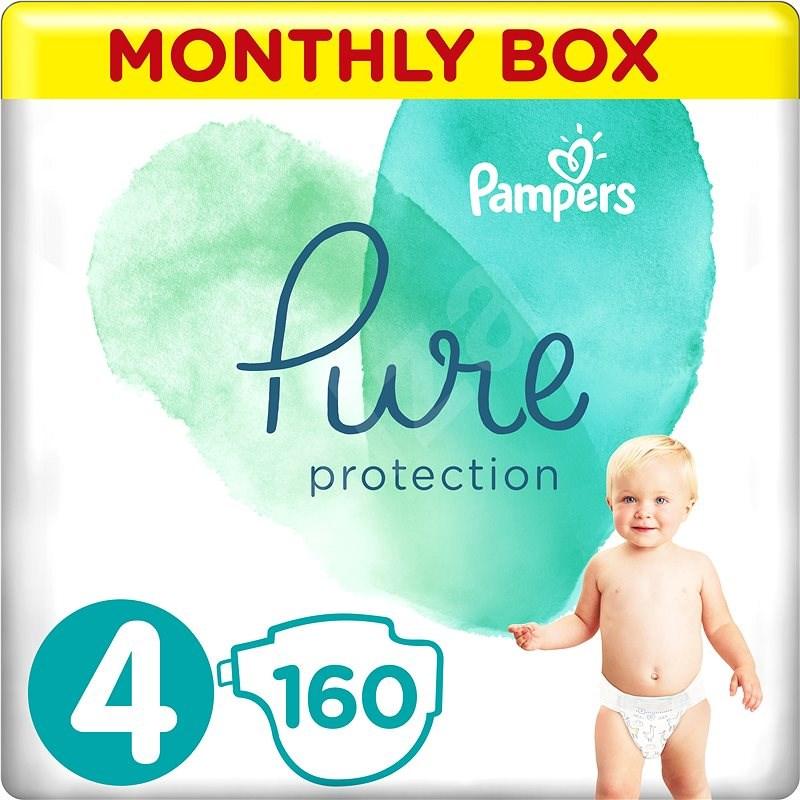 PAMPERS Pure Protection vel. 4 (160 ks) - Dětské pleny