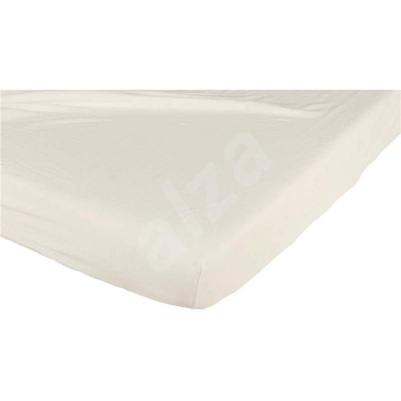 Candide Prostěradlo bavlněné 60 × 120 cm béžové - Prostěradlo do postýlky