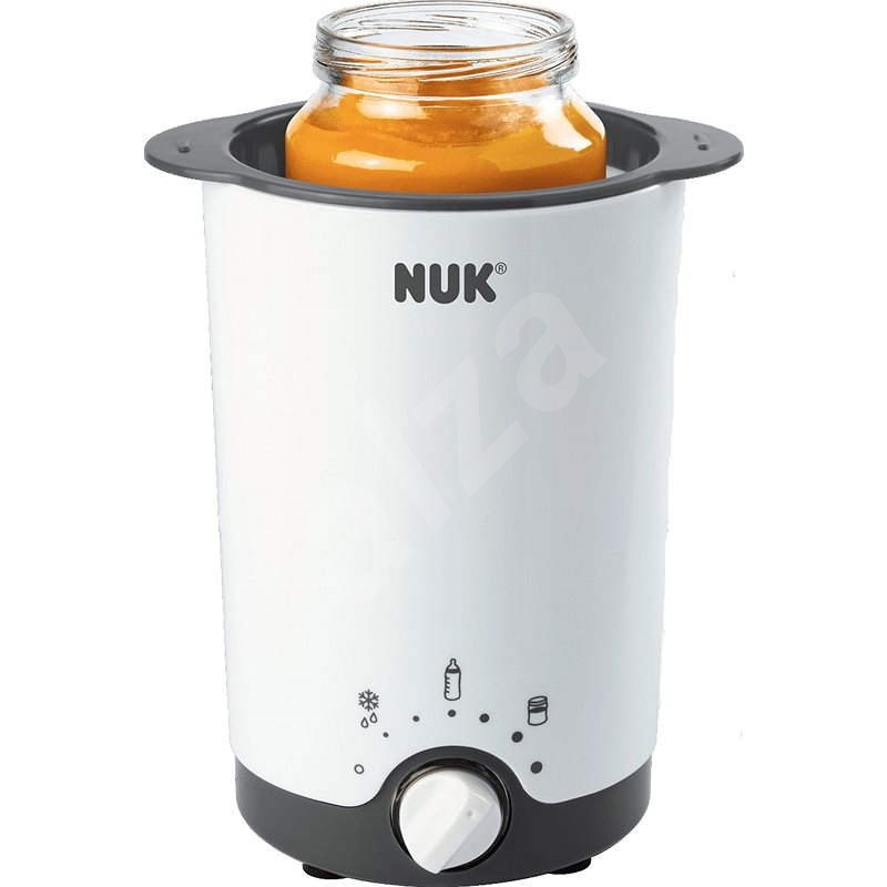 NUK Elektrická ohřívačka na kojenecké láhve Thermo 3v1 - Ohřívač lahví