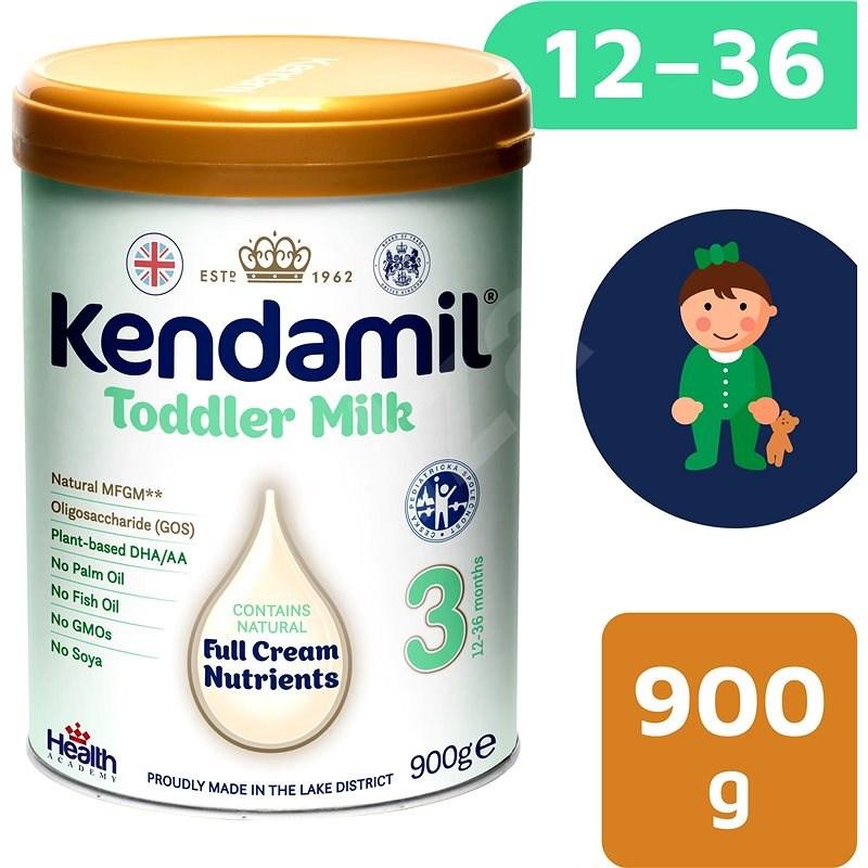 Kendamil batolecí mléko 3 DHA+ (900 g) - Kojenecké mléko