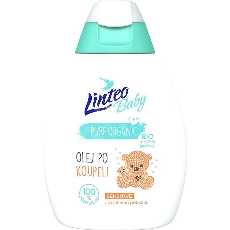 LINTEO BABY Dětský olej po koupeli s Bio měsíčkem lékařským 250 ml - Dětský olej