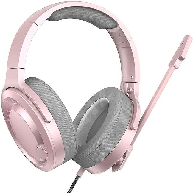 Baseus GAMO Immersive Virtual 3D Pink - Herní sluchátka