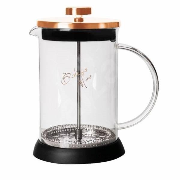 BerlingerHaus Konvička na čaj a kávu French Press 800 ml Rosegold Metallic Line - French press