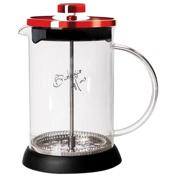BerlingerHaus Konvička na čaj a kávu French Press 600 ml Burgundy Metallic Line - French press
