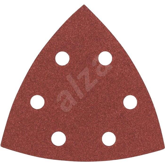 BOSCH Sada brusných papírů C470 pro delta bruska, 93mm, G80, 5ks - Brusný papír