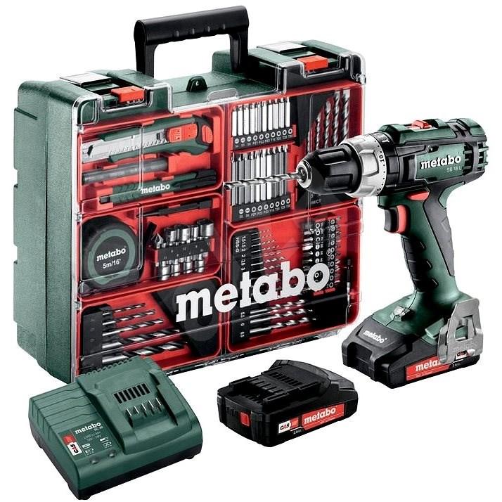 METABO SB18LSet MD 2x2,0Ah - Cordless Drill