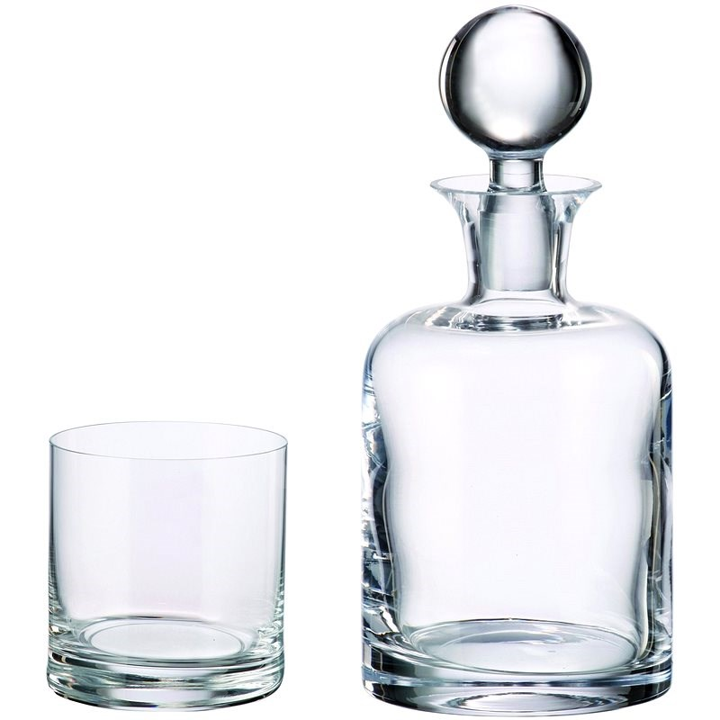 Bohemia Royal Crystal Whisky set 7 ks BOHEMIA - Whisky set
