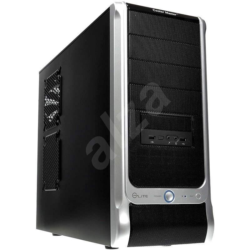 Cooler Master Elite 330U černo-stříbrná - Počítačová skříň