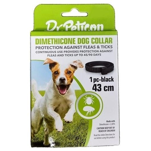 DR.Peticon obojek proti klíšťatům a blechám pro malé psy 43 cm - Antiparazitní obojek
