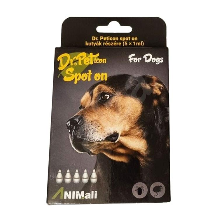 DR.Peticon Pipeta proti klíšťatům a blechám pro malé psy 5 × 1 ml - Antiparazitní pipeta
