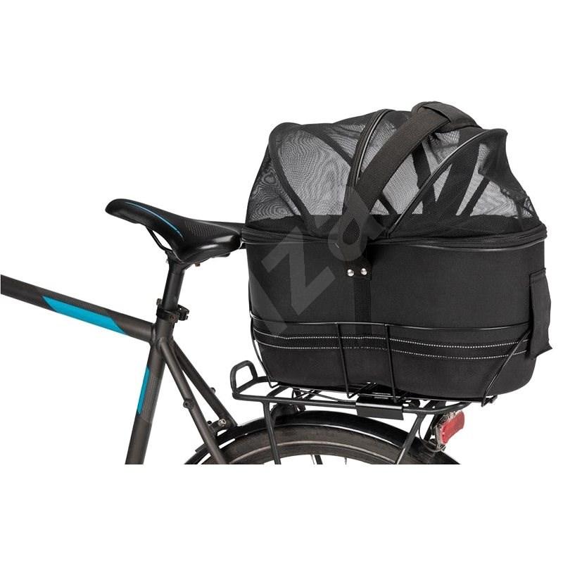 Trixie Přepravka na zadní nosič kola 29 × 42 × 48 cm - Přepravka pro psa