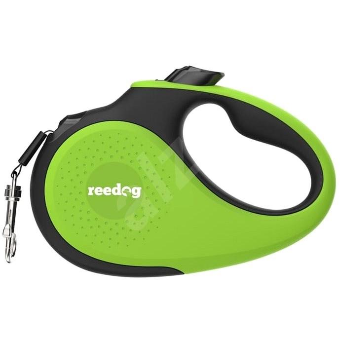 Reedog Senza Premium samonavíjecí vodítko L  50 kg / 5 m páska / zelené - Vodítko