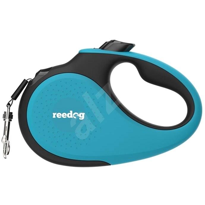 Reedog Senza Premium samonavíjecí vodítko L  50 kg / 5 m páska / tyrkysové - Vodítko